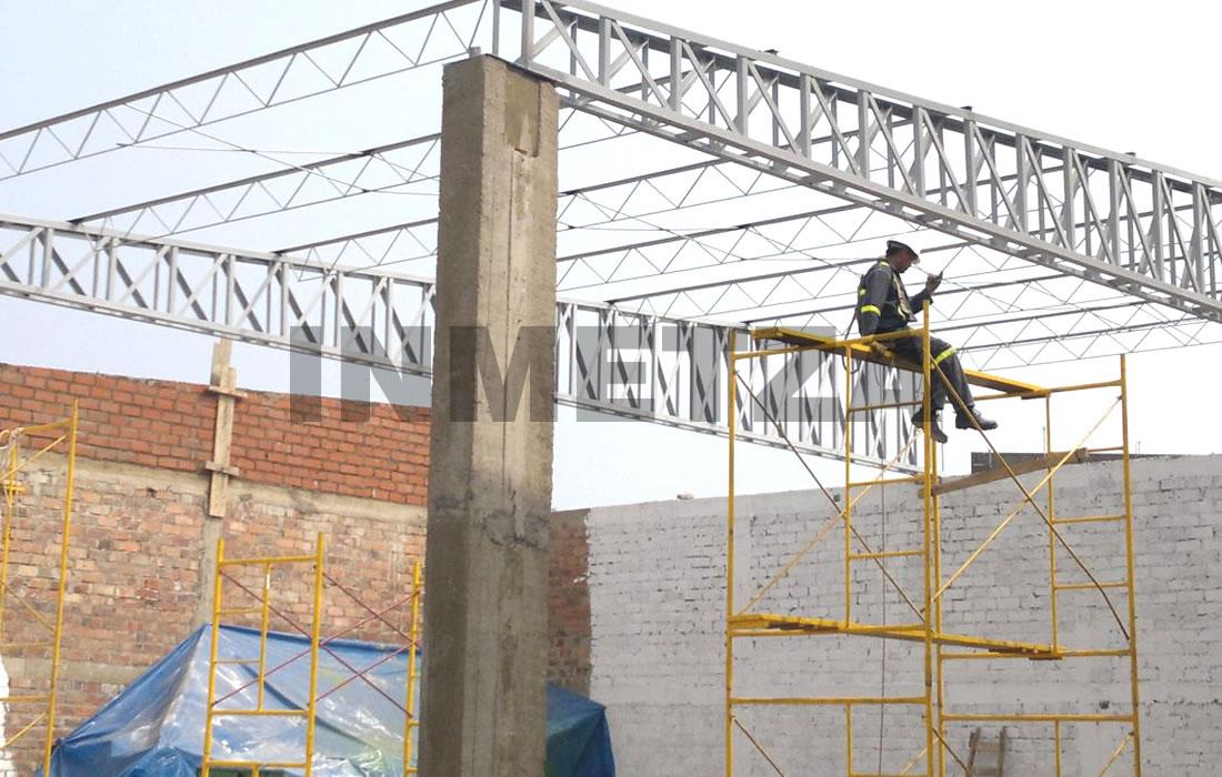 Estructuras metalicas techos fabulous techos parabolicos for Estructuras metalicas para tejados